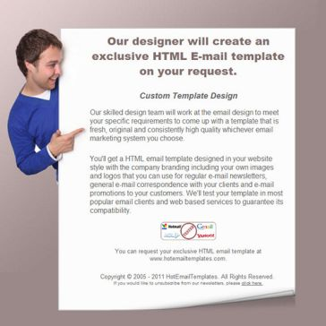 Email Template: Smiling boy