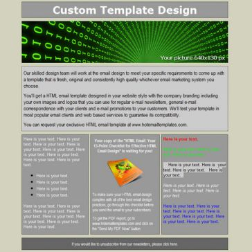 Email Template: Strict
