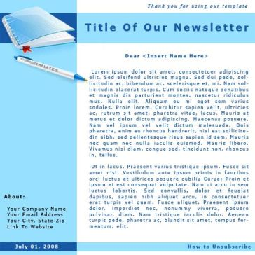 Email Template: Today News