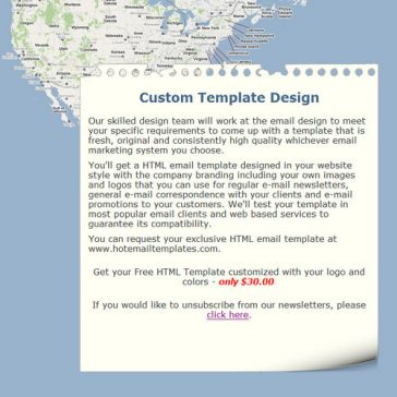 Email Template: Traveler notes