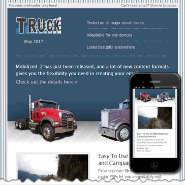 Email Template: Truck