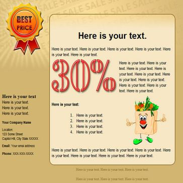 Email Template: Vitamin