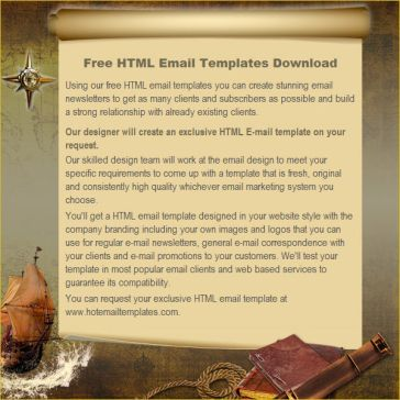 Email Template: Wind of wanderings