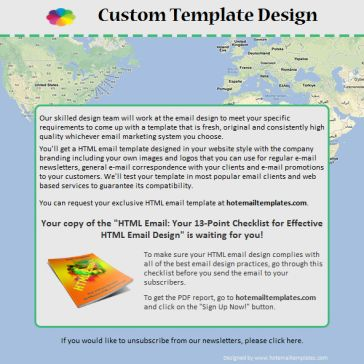 Email Template: Whole World