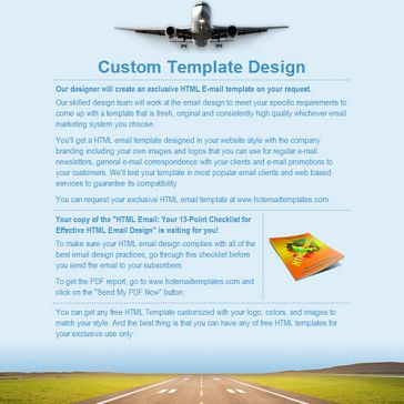 Email Template: World Airways