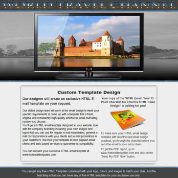 Email Template: World Travel Channel