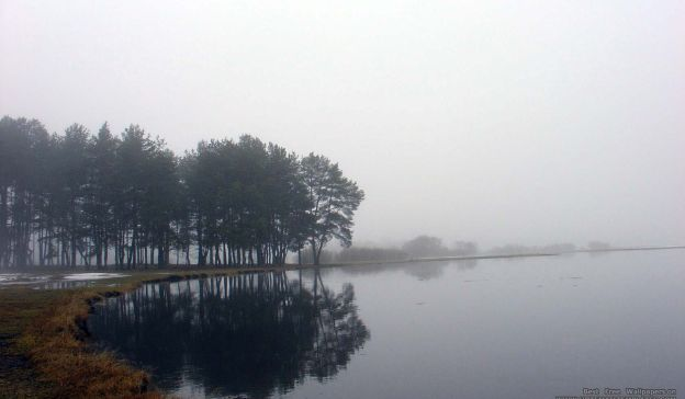 Email Template: Fog over river