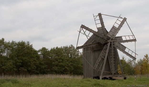Email Template: Old windmill