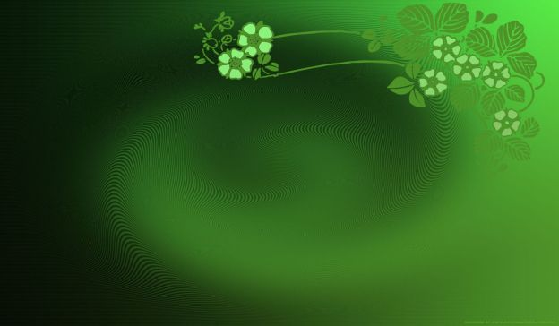 Email Template: Green bloom
