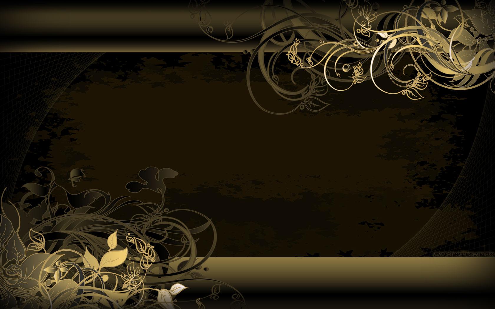 gold vintage wallpaper