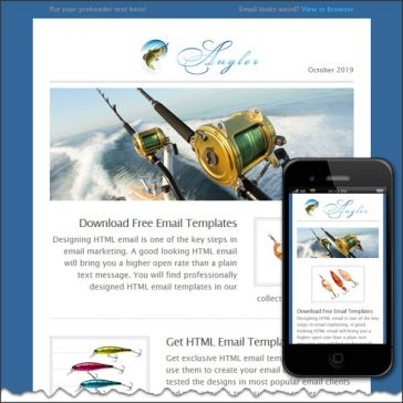 Email Template: Angler plus