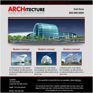 Email Template: Architecture