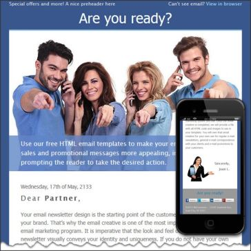 Email Template: Are you ready?