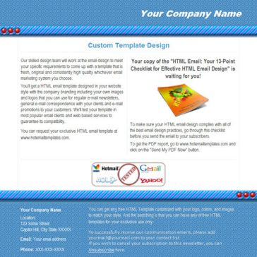 Email Template: Bars