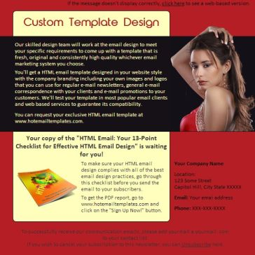 Email Template: Belle