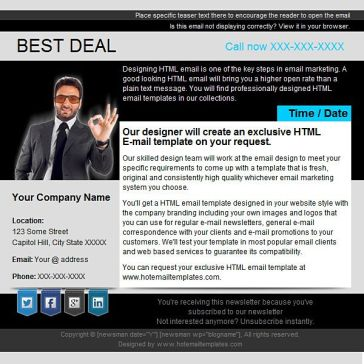 Email Template: Best Deal