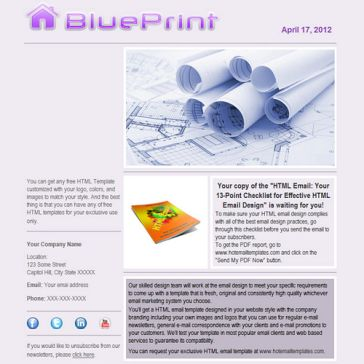 Email Template: Blueprint