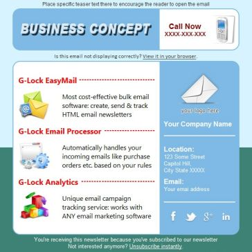 Email Template: Busines APP