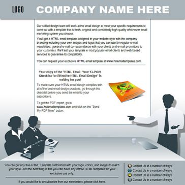 Email Template: Business workshop
