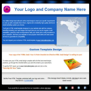 Email Template: Bussiness message