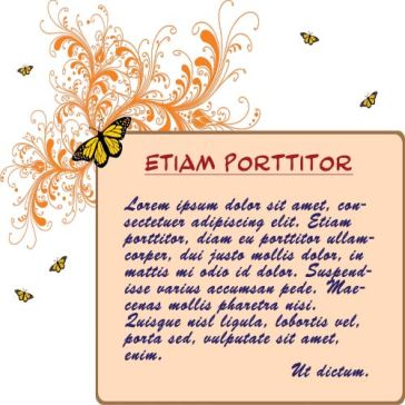 Email Template: Butterfly