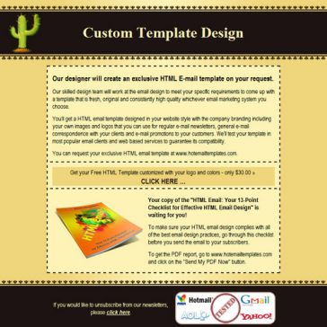 Email Template: Cactus