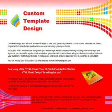 Email Template: Circles