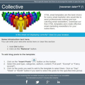 Email Template: Collective