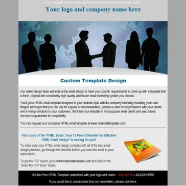 Email Template: Communications