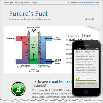 Email Template: Future's Fuel