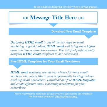 Email Template: Countdown