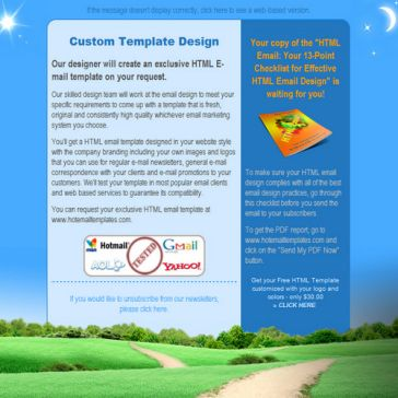 Email Template: Day and Night