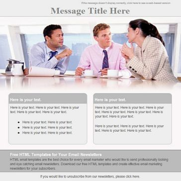 Email Template: Discuss