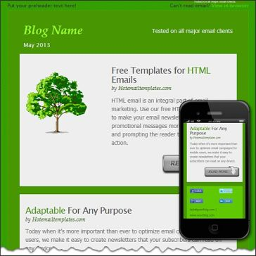 Email Template: ECO Live