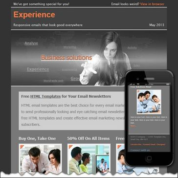 Email Template: Experience