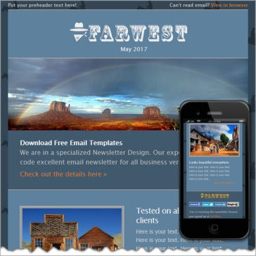 Email Template: Farwest