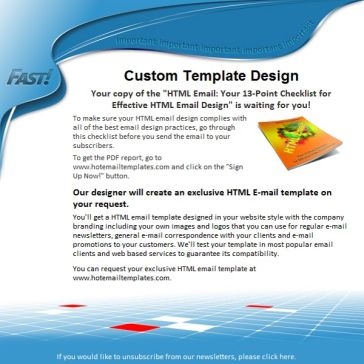 Email Template: Fast!