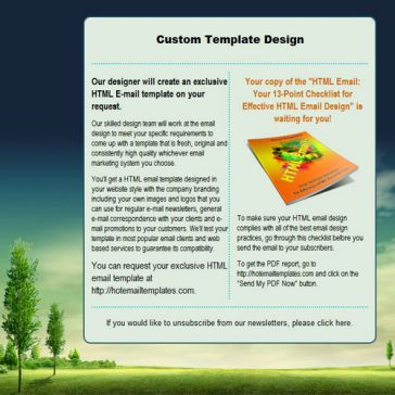 Email Template: Field