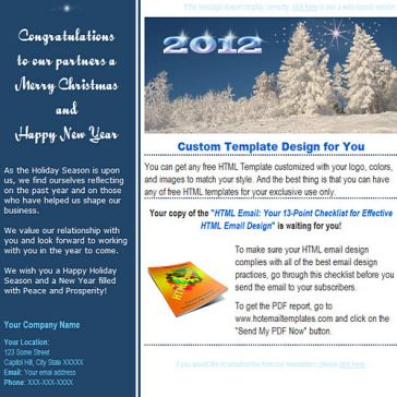 Email Template: For partners