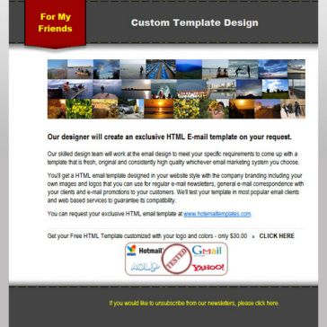Email Template: For Members