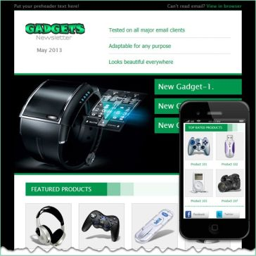 Email Template: Gadgets