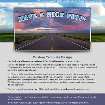 Email Template: Godspeed