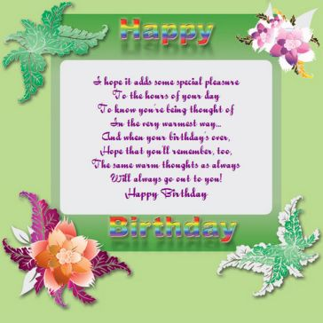 Email Template: Happy Birthday