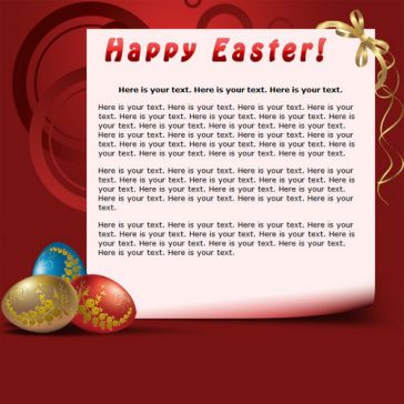 Email Template: Happy Easter!