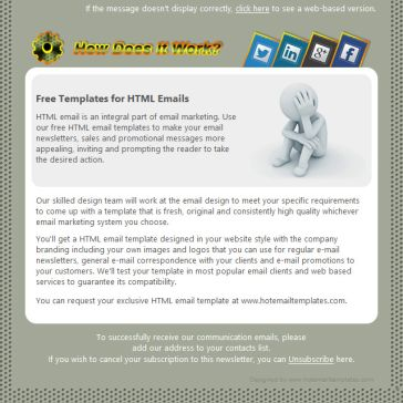 Email Template: How does it work?