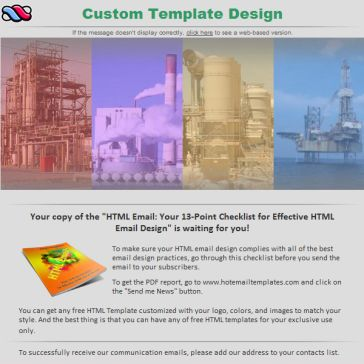 Email Template: Industries solutions