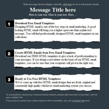 Email Template: Inquiry