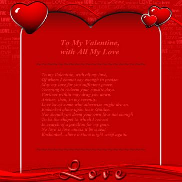 Email Template: Love (Valentine's Day)
