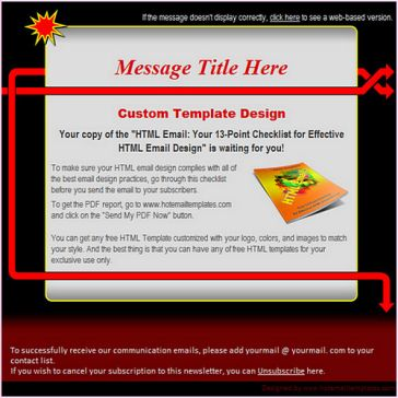 Email Template: Main direction