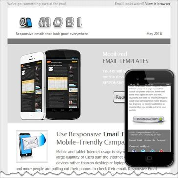 Email Template: Mobi